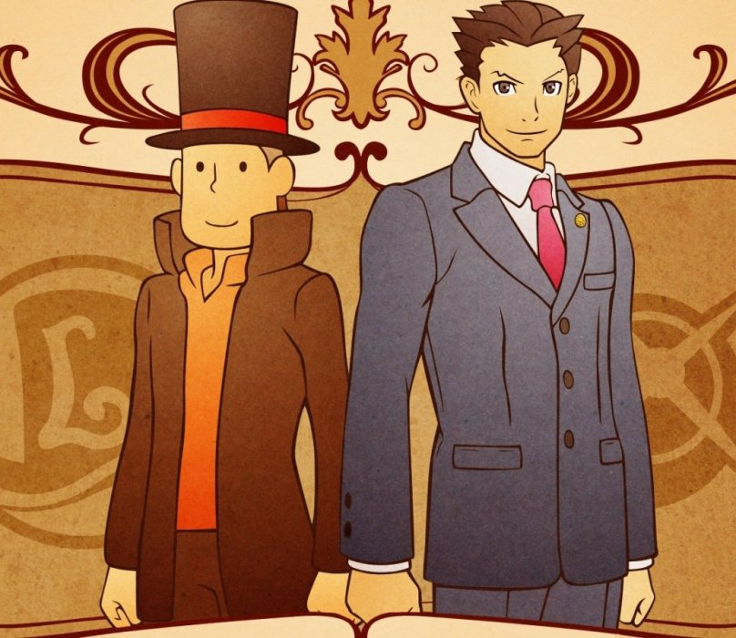 Обзор Professor Layton vs. Phoenix Wright: Ace Attorney - рецензия на игру Professor Layton vs. Phoenix Wright: Ace Attorney | Рецензии | Канобу
