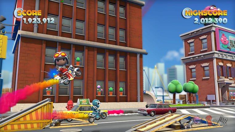 Герои Tearaway и LittleBigPlanet посетят порт Joe Danger 2 на PS Vita | Канобу - Изображение 7588