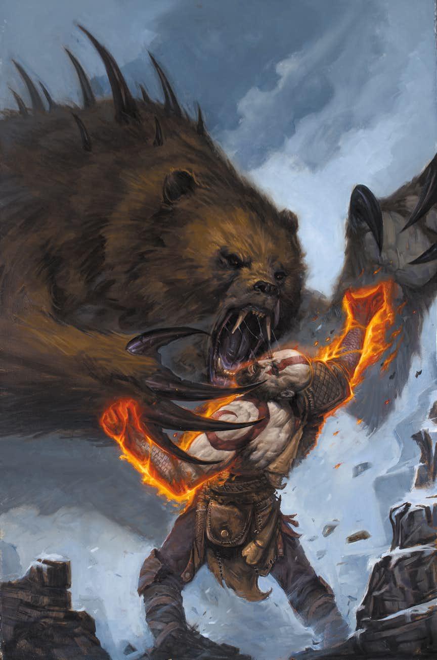 Что происходило сКратосом между оригинальной трилогией God ofWar иновой игрой? Узнаем вкомиксе!. - Изображение 2